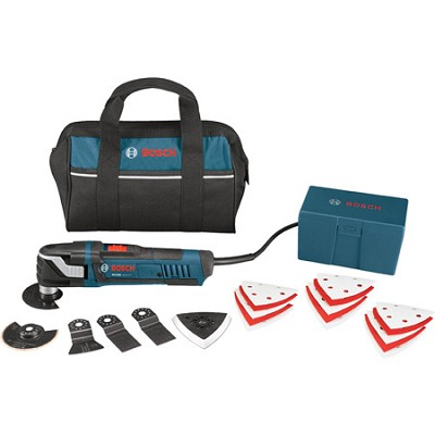 Multi-X 3.0 Amp Oscillating Tool Kit with Bag