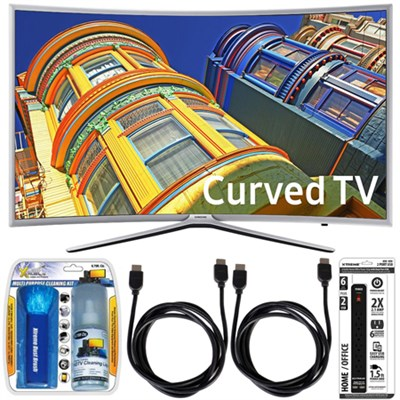 UN55K6250  - Curved 55-Inch 1080p Full HD LED Smart TV w/ Accessory Bundle