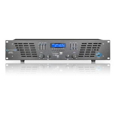 AX5000 2U Professional 2CH Power Amplifier 5000 watts peak power