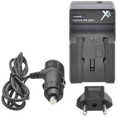 XTCHFV50 Battery Charger for Sony FV50/FV70/FV100 (Black)