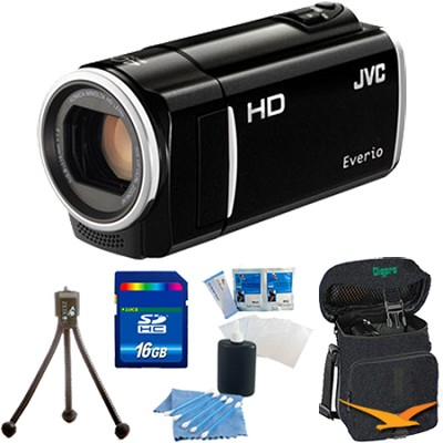 GZ-HM30US Flash Memory Camcorder (Black) - 16 GB Memory Bundle
