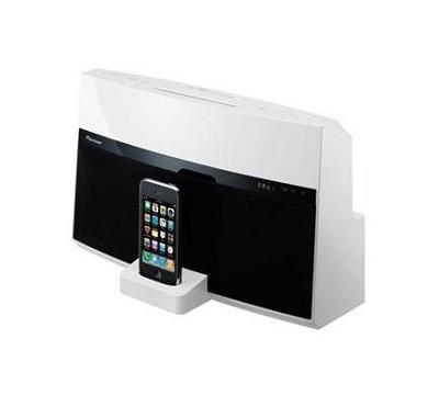 XW-NAV1K - AV Series Docking Station for iPod (White)
