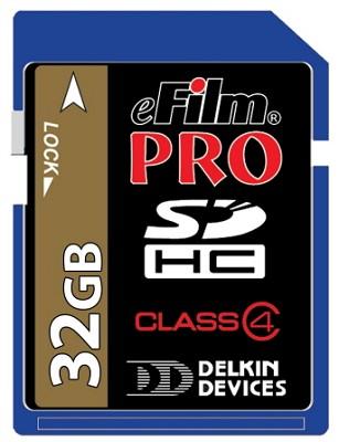 32GB Pro 150X High-Speed SDHC memory card