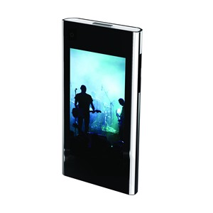 MP3 Player with 3 ` Color LCD, 8GB Flash Memory with FM & Touchscreen Control