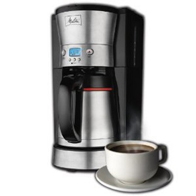 10-Cup Thermal Coffee Maker - OPEN BOX