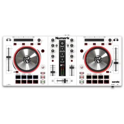 Mixtrack Pro 3 All-in-One Controller Solution for Serato DJ - White