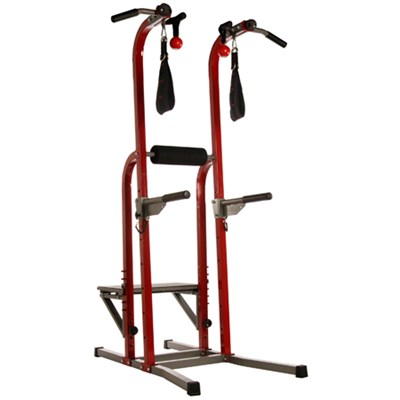 X Fortress Power Tower Workout Station, Red (50-1755)