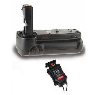 Battery Grip for Nikon D5000 + AA Power Pack