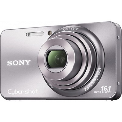 Cyber-shot DSC-W570 16MP Silver Digital Camera - OPEN BOX