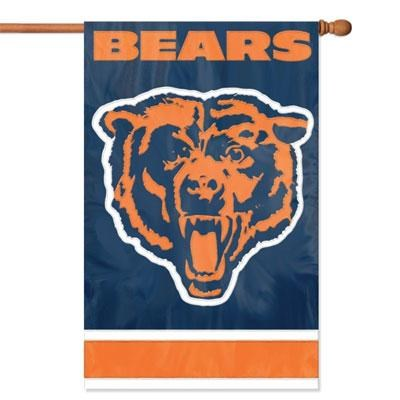 Bears Applique Banner Flag