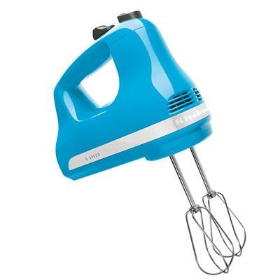 5-Speed Ultra Power Hand Mixer in Crystal Blue - KHM512CL
