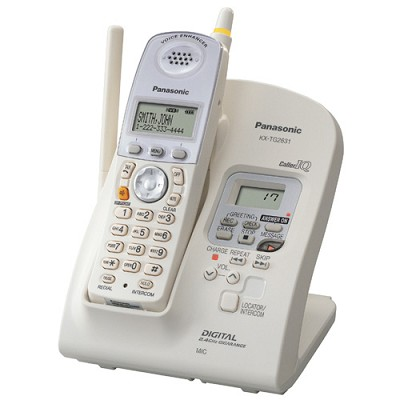 KX-TG2631W 2.4 GHz FHSS GigaRange? Digital Cordless Phone with Digital Answering