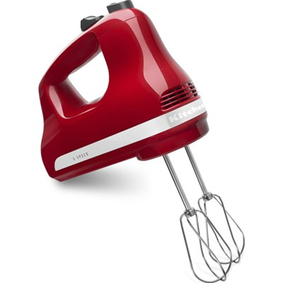 5-Speed Ultra Power Hand Mixer in Empire Red - KHM512ER