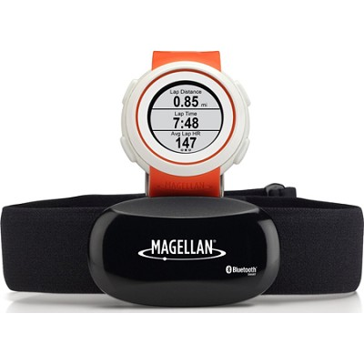 Echo Smart Running Watch with Heart Rate Monitor-Bluetooth Smart - Orange
