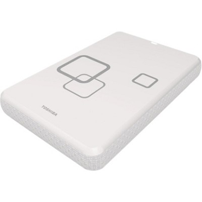 FOR MAC DS TS Infinite White 750GB Canvio USB 2.0 External HDD - OPEN BOX