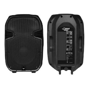 PPHP1288A 800 Watts Powered 12'' Two-Way Plastic Molded Speaker System