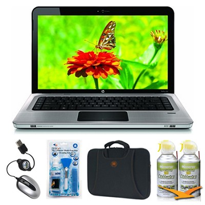 Pavilion 14.0` DM4-1160US Grey Notebook Essentials Bundle