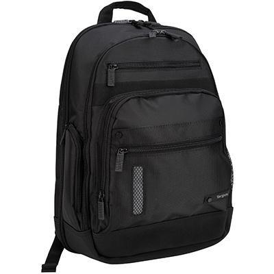 15.6` Revolution Notebook Backpack in Black - TEB005US