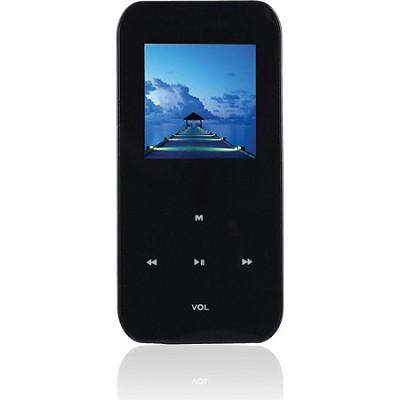 4 GB MP3 Video Player with 1.5` LCD, FM Radio, Recorder (Black)