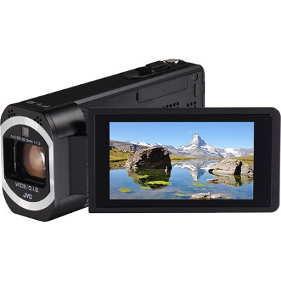 GZ-VX815BUS- HD Everio Camcorder 10x Zoom f1.2 (Black)