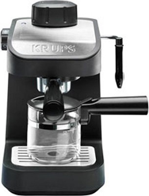 XP1020 750-Watt Steam Espresso Machine with Glass Carafe