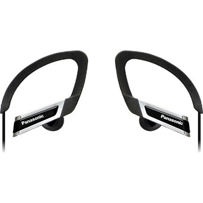 RP-HS220-K Inner Ear Clip Sports Earphones with Extension (Black)