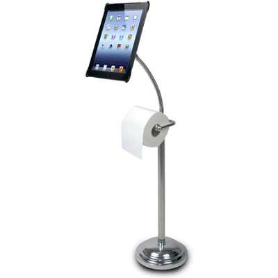 Digital Pedestal Stand for iPad 2/3/4 with Roll Holder