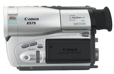 ES-75 Camcorder
