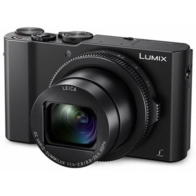 LUMIX LX10 20.1 MP 3x F/1.4-2.8 Leica DC Optical Zoom Digital Camera - Black