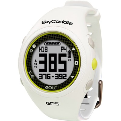 GPS Golf Watch - White - OPEN BOX