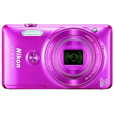 COOLPIX S6900 16MP Full HD 1080p Pink Digital Camera - Manufacturer Refurbished