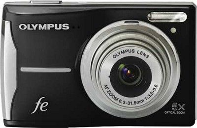 FE-46 12MP Digital Camera w/ 5x Optical Zoom, 2.7 inch LCD Black Refurbished