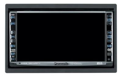 CQ-VD6505U In-dash 6.5` Widescreen Monitor/DVD Receiver