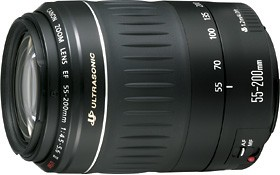 EF 55-200mm F/4.5-5.6 II USM (52mm ) Canon USA Warranty