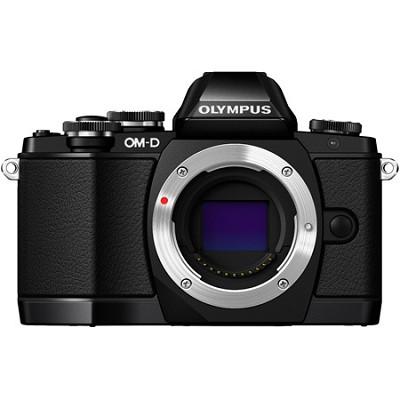 OM-D E-M10 Mirrorless Micro Four Thirds Digital Camera Body Only - Black