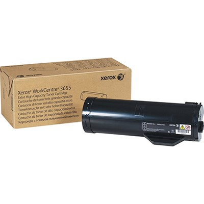 Black Extra High Capacity Toner Cartridge for WorkCentre 3655/3655i - 106R02740