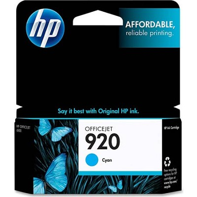 920 Cyan Officejet Ink Cartridge