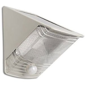 40235 LED Solar-Power Motion-Activated Wedge Light