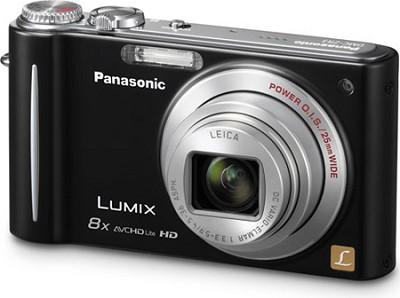 DMC-ZR3K LUMIX 14.1 MP Digital Camera with 10x Intelligent Zoom (Black)