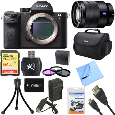 a7R II Full-frame Mirrorless Interchangeable 42.4MP Camera 24-70mm Lens Bundle
