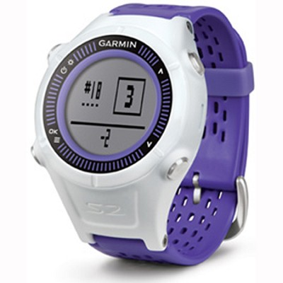 Approach S2 GPS Golf Watch (Purple/White)
