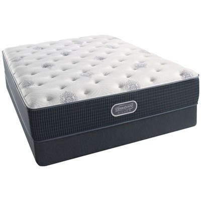 BeautyRest Recharge ~ Silver - Henderson Cove Luxury Firm PT Mattress - King