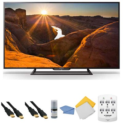KDL-40R510C - 40-Inch Full HD 1080p 60Hz Smart LED TV + Hookup Kit