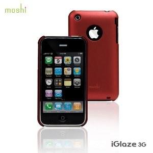 iGlaze for iPhone 3G/3GS Cranberry Red