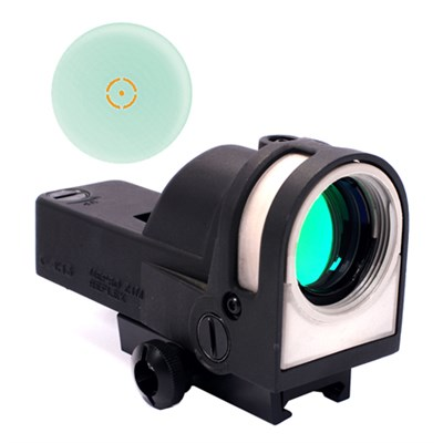 Self-Powered Day/Night Reflex Sight with Dust Cover - Bullseye MEPRO-M21-B