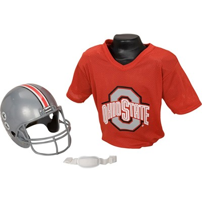 Youth NCAA Ohio State Buckeyes Helmet and Jersey Set