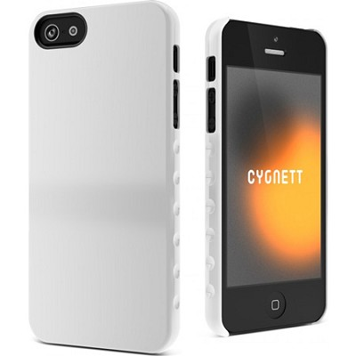 White AeroGrip Form Snap-on iPhone 5 Case