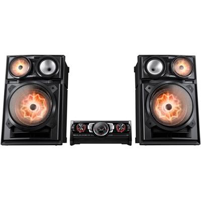 MX-HS9000 - 3400 Watt Giga System Shelf Music System with Bluetooth