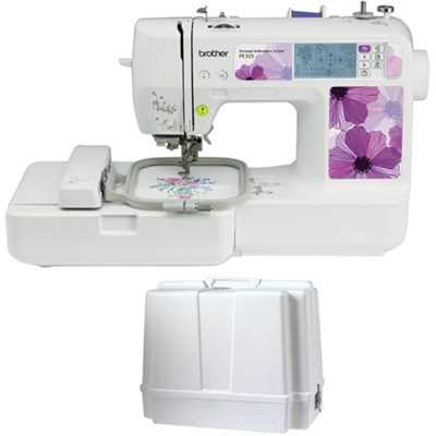 Embroidery Machine 70 Designs PE525 with Carrying Case