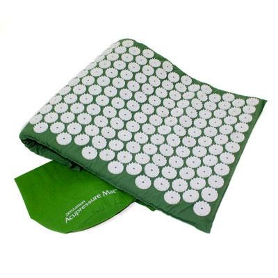 Zenzation Athletics Acupressure Mat and Carry Bag in Green - WTE10452GN